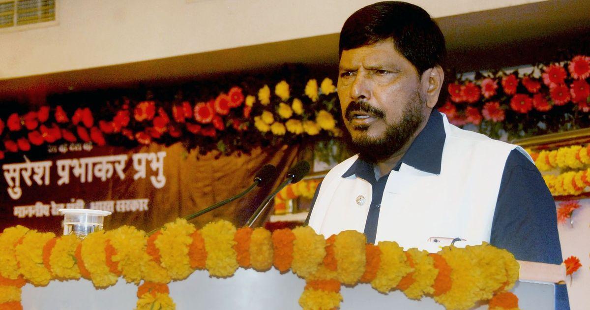 Social Justice Minister Ramdas Athawale believes transgender people should not wear saris