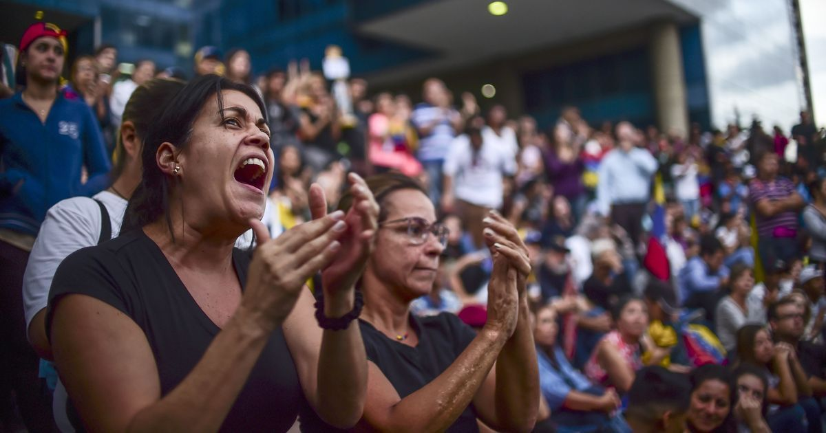 Venezuela referendum was fixed, says company that provided the electronic voting systems