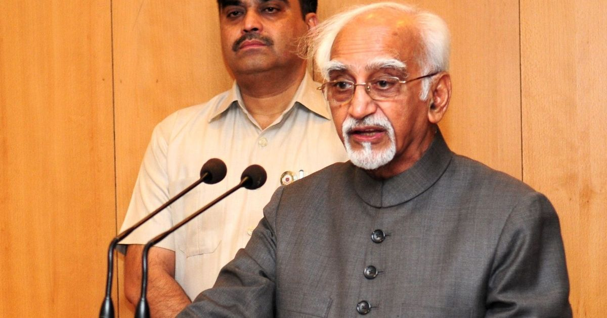 Full text: Hyper-nationalism is a sign of insecurity, says Vice President Hamid Ansari