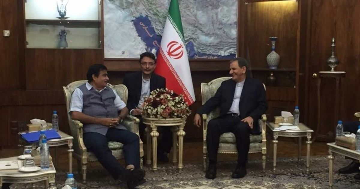 Gadkari's visit signals that India is committed to strong ties with Iran despite setbacks