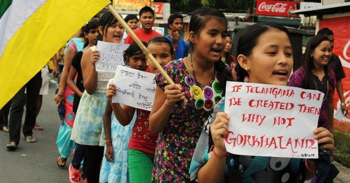 'No Path in Darjeeling Is Straight': Why Gorkhas want their own state