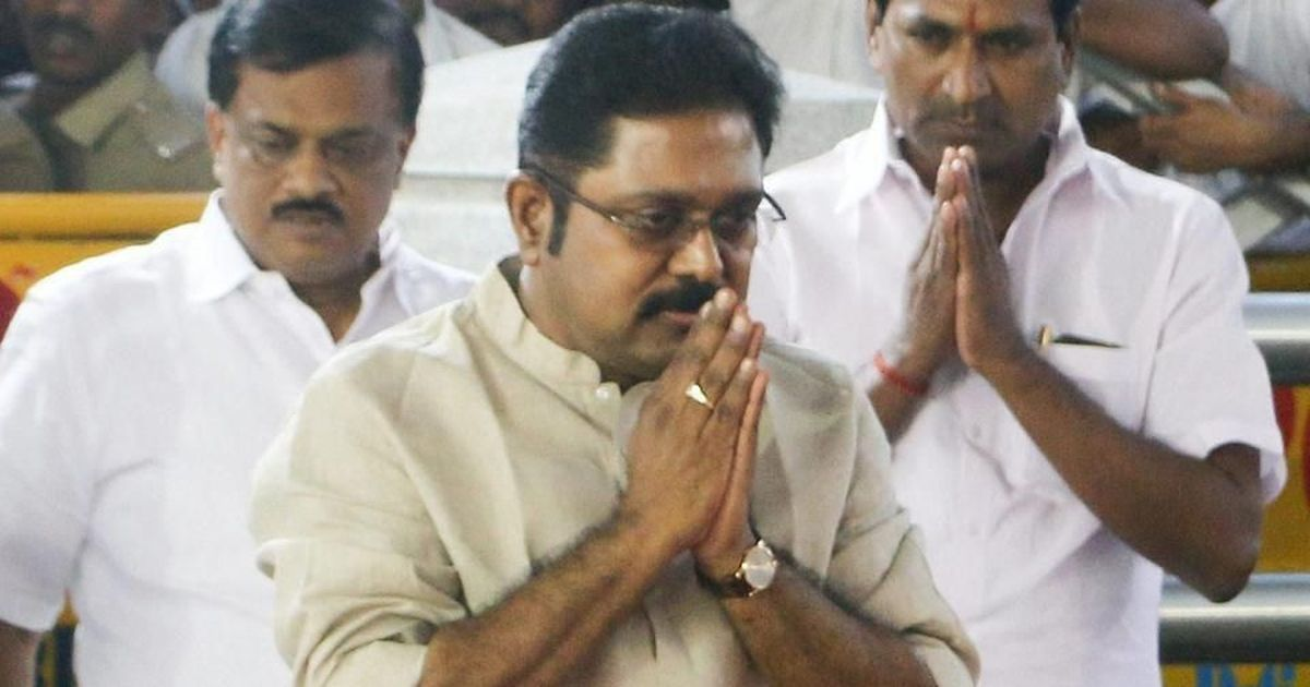 Dinakaran claims his appointment did not violate AIADMK rules, accuses CM Palaniswami of cheating