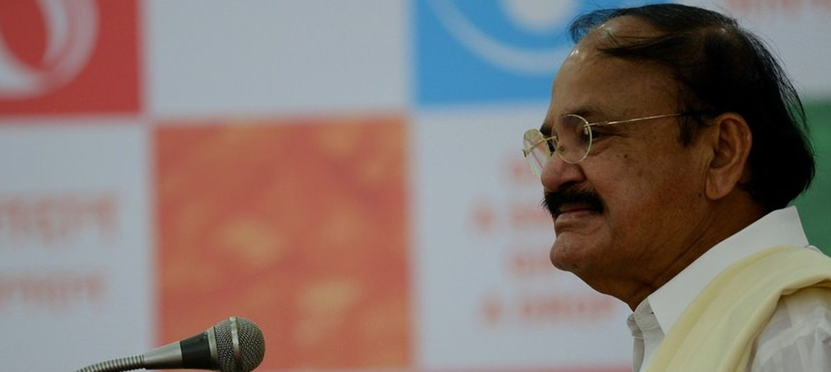 Venkaiah Naidu sworn in as the 13th vice president of India