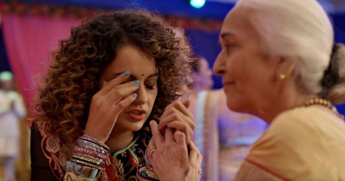 Kangana Ranaut rocks the wedding again in 'Simran' song 'Lagdi Hai Thaai'
