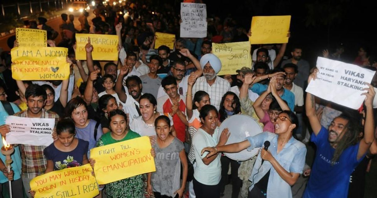 Chandigarh: Women hold Bekhauf Azaadi March to assert their right to access public spaces