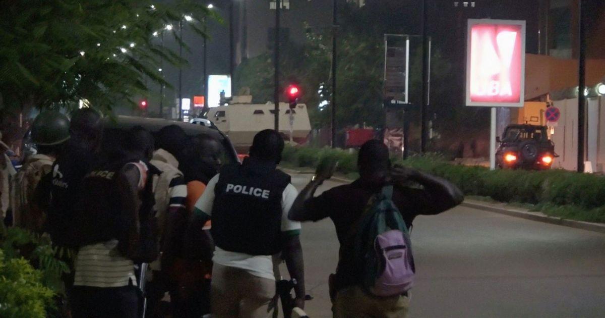 Burkina Faso: 18 dead as gunmen open fire outside Turkish restaurant in Ouagadougou