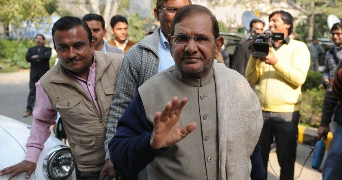 JD(U) crisis: 21 leaders, believed to be Sharad Yadav loyalists, suspended for anti-party activities