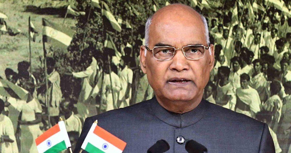 President Kovind says demonetisation boosted efforts to build an honest society