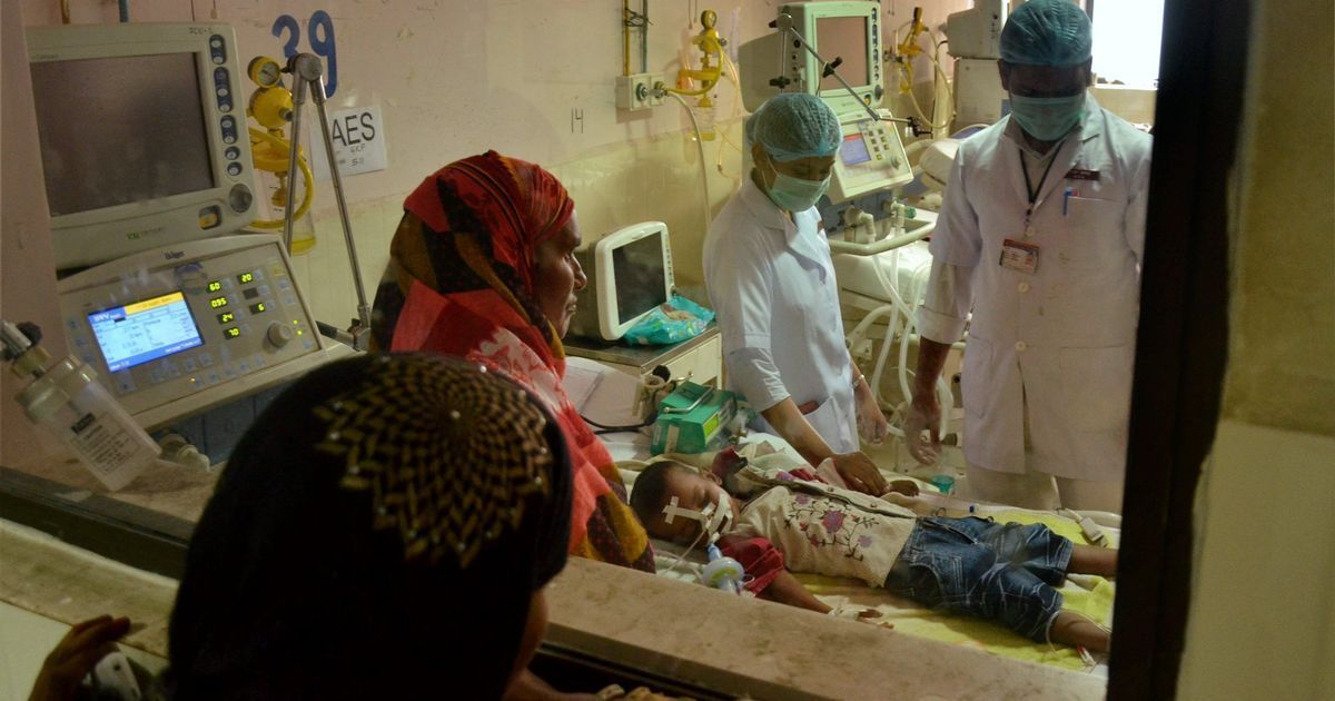Six more patients, mostly children, died of encephalitis at Gorakhpur hospital in past three days