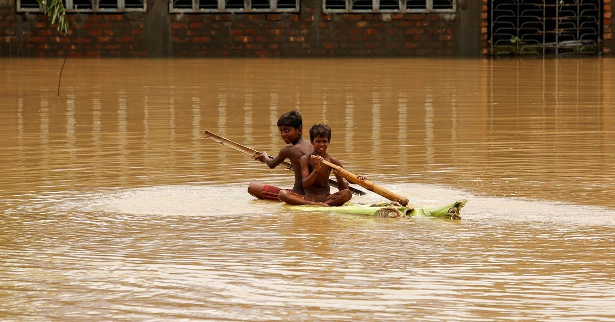 In photos: Nearly a 100 killed, lakhs displaced by floods in multiple states
