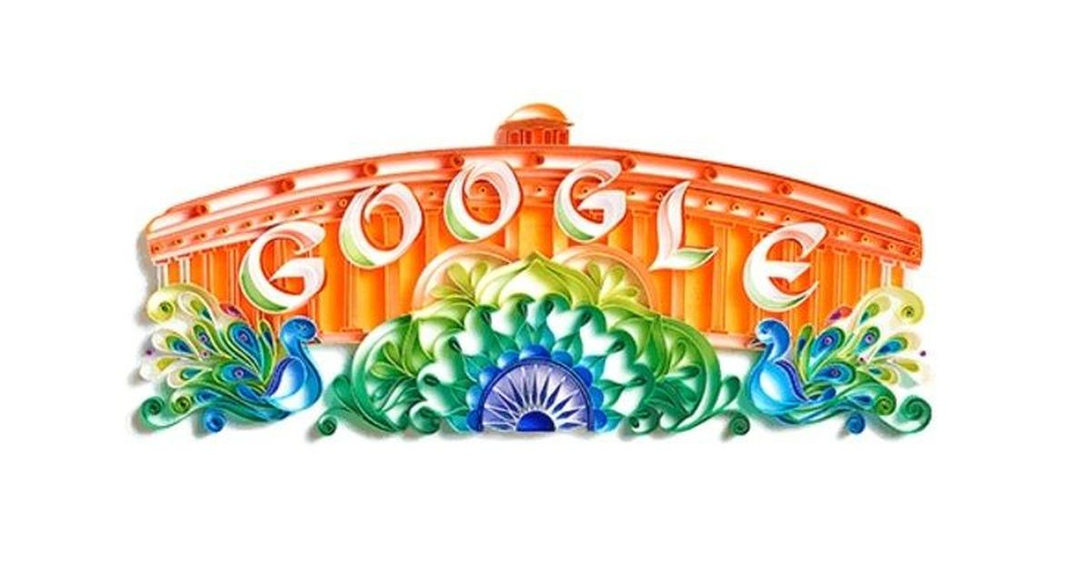 Today's Google Doodle celebrates India's 71st Independence Day