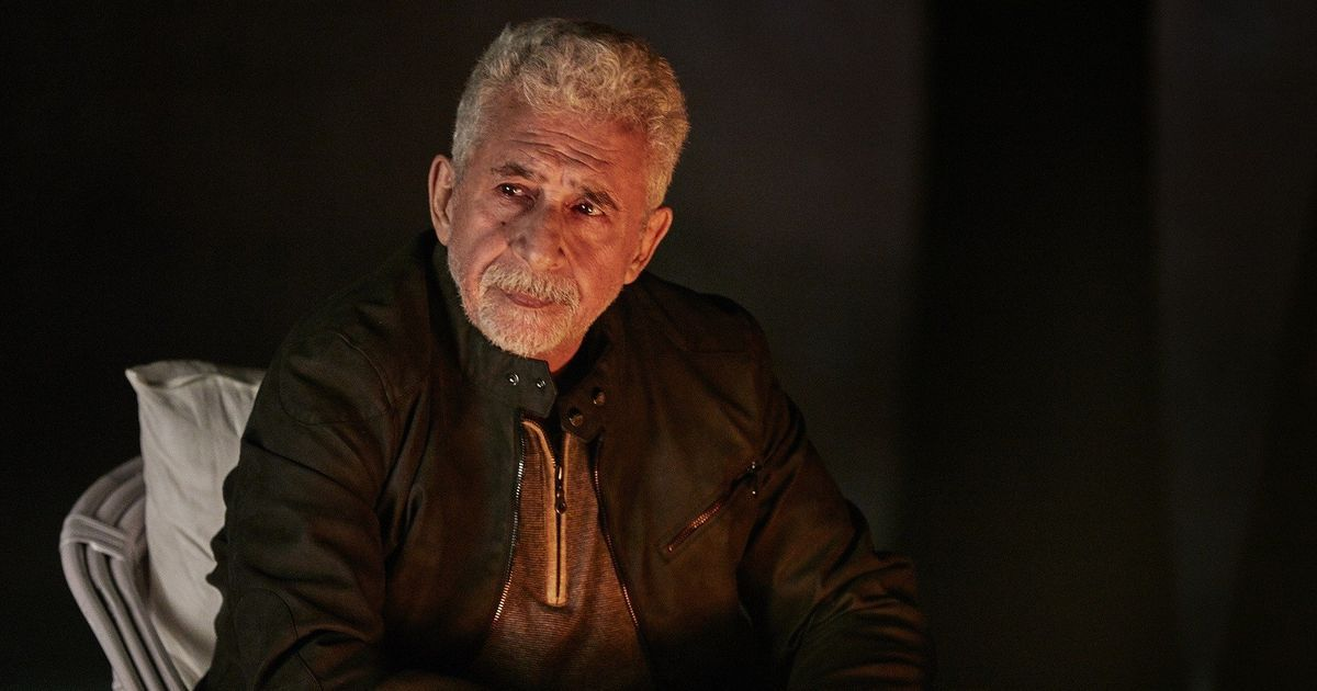 The draw of a Naseeruddin Shah performance is that it never feels like one