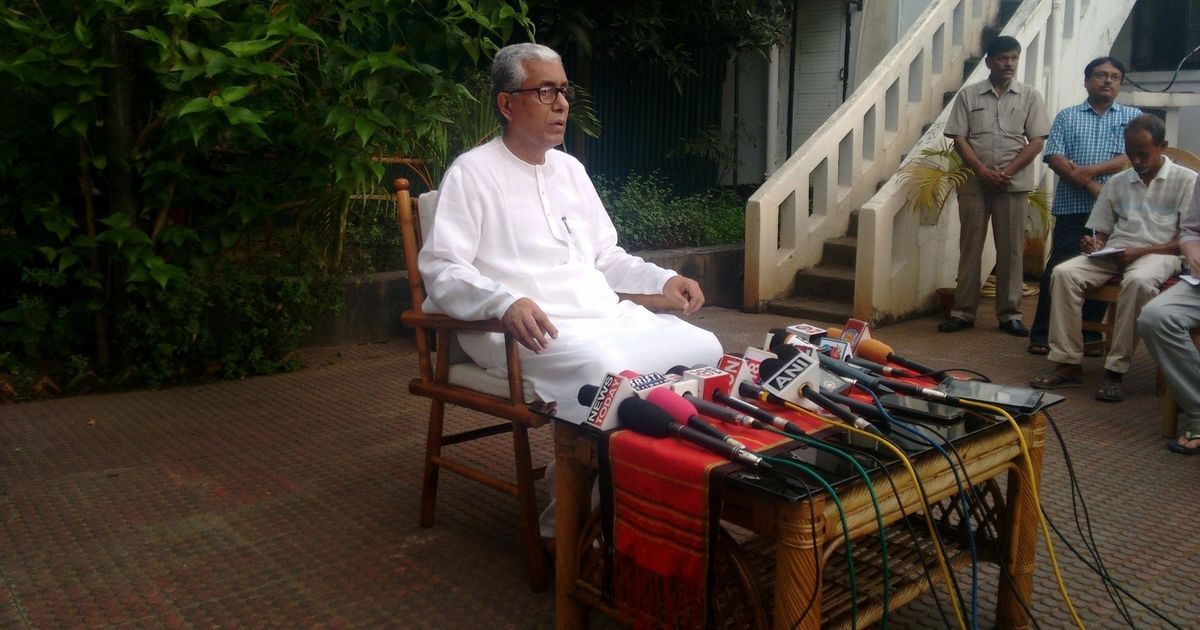 Prasar Bharti admits it had asked Tripura CM to rework his Independence Day speech: Report