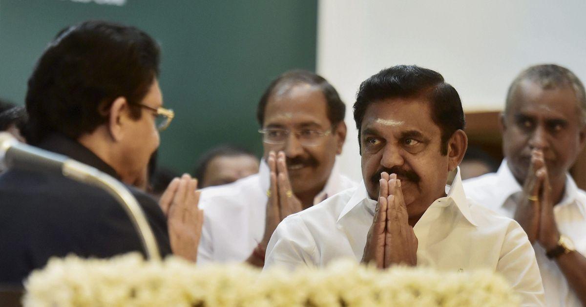 Tamil Nadu CM Palaniswami orders judicial inquiry into Jayalalithaa's death
