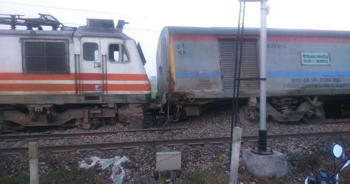 Another derailment: At least 74 injured after Kaifiyat Express goes off tracks near UP's Auraiya