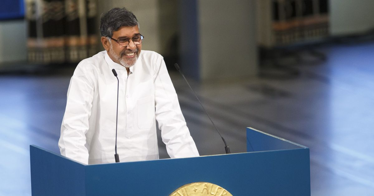 Kailash Satyarthi says he will launch 'world's biggest march' against child trafficking in September