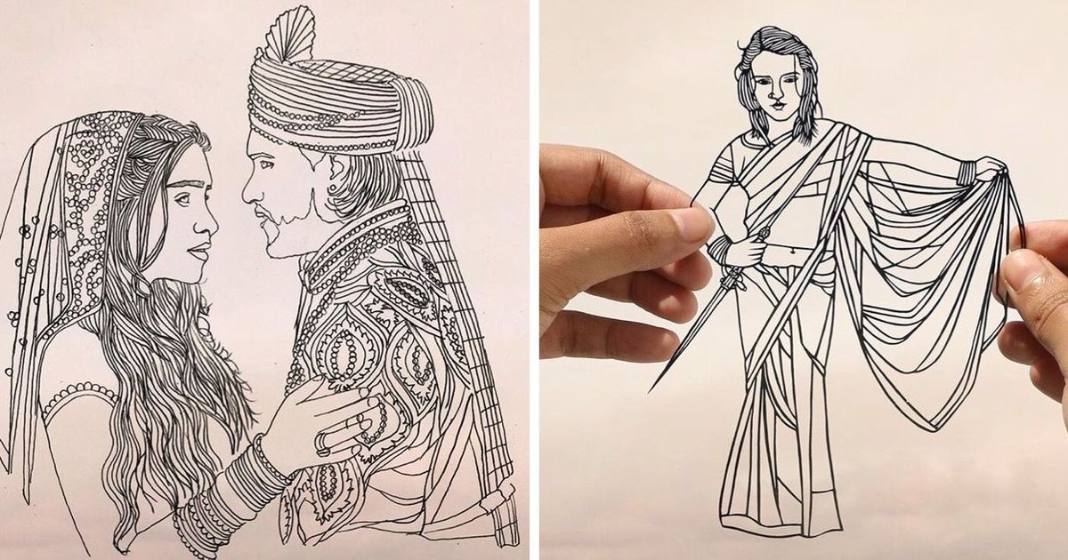 Valar Morghulis by paper cuts: An artist is re-imagining 'Game of Thrones' characters as Indians