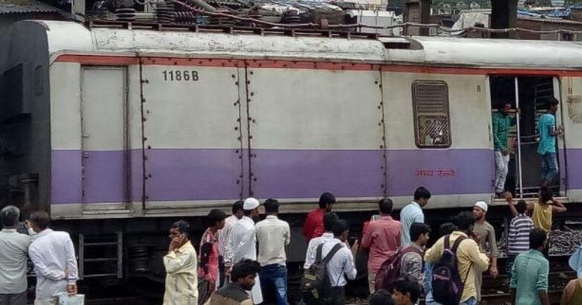 Mumbai: Harbour Line train gets derailed near Mahim, affects traffic