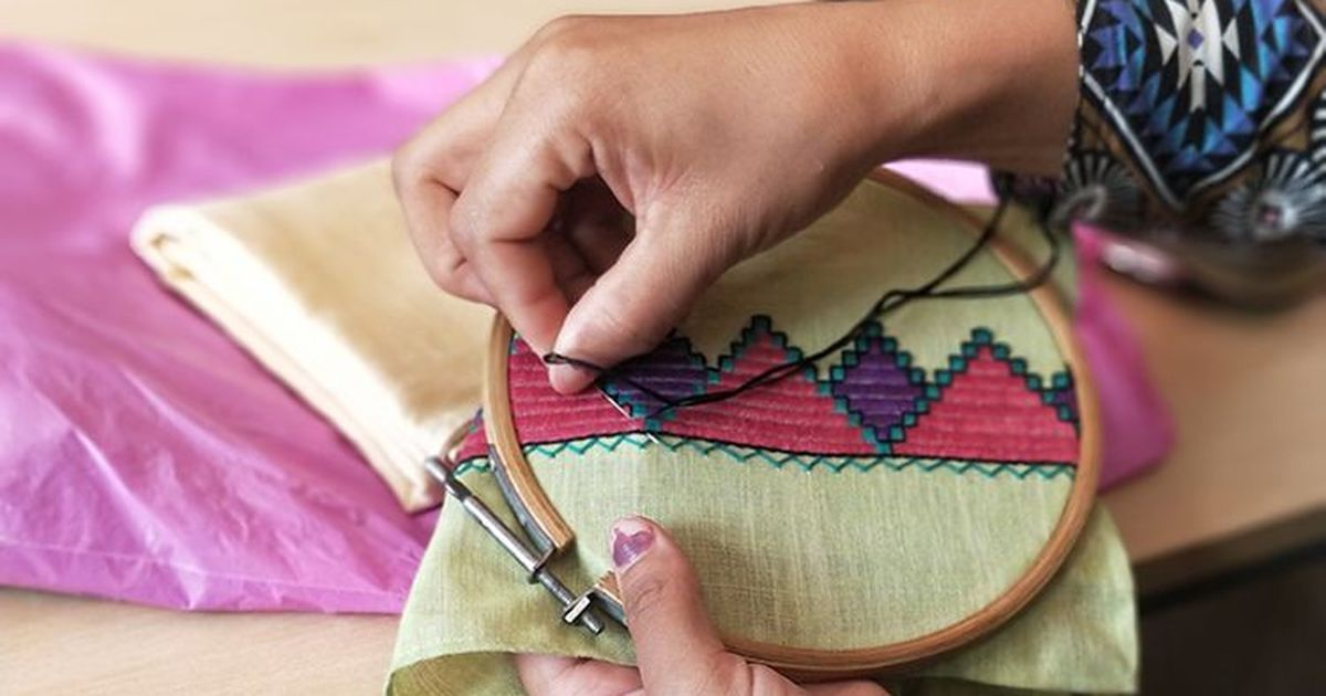 Afghan refugees in Delhi are weaving themselves a new life, a stitch at a time