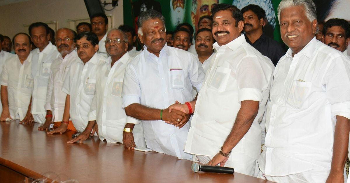 AIADMK crisis: 35 MLAs skip meeting chaired by Palaniswami, party to expel Dinakaran, Sasikala