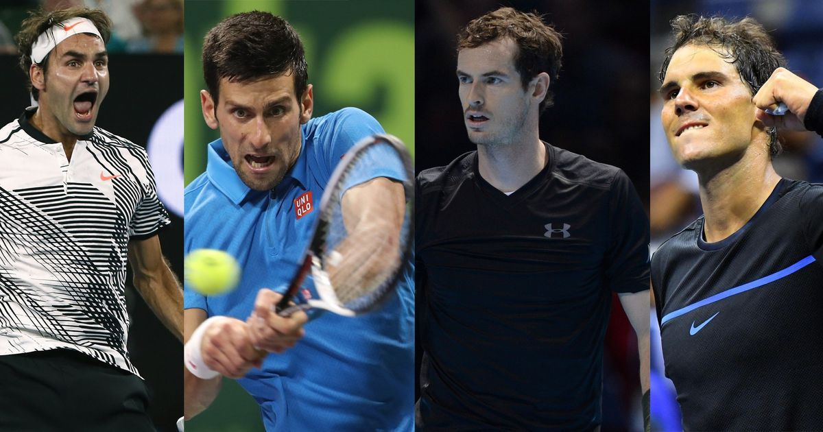 Where Is The Gen Next These Charts Show How The Big Four Have Dominated Tennis