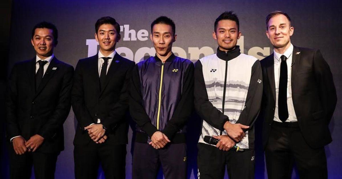 Badminton Superstars Lin Dan Lee Chong Wei Taufik Hidayat To