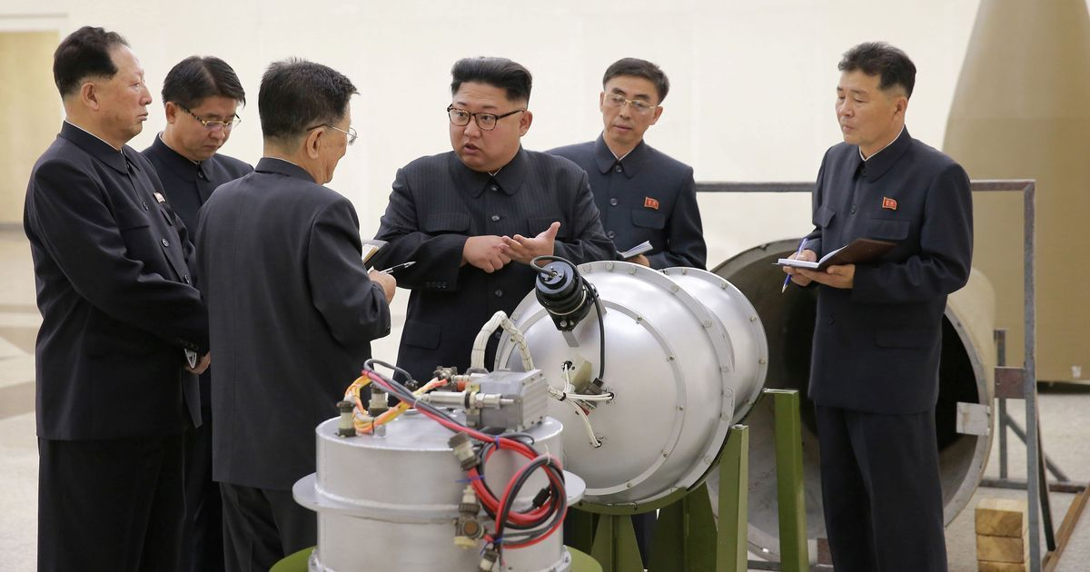 North Korea says it successfully conducted a hydrogen bomb test