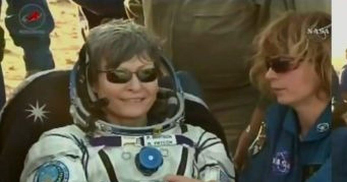 Nasa's Peggy Whitson returns with Expedition 52 crew, bags new record