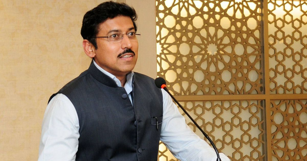'Delighted': Twitter salutes the appointment of Rajyavardhan Rathore as India's next sports minister