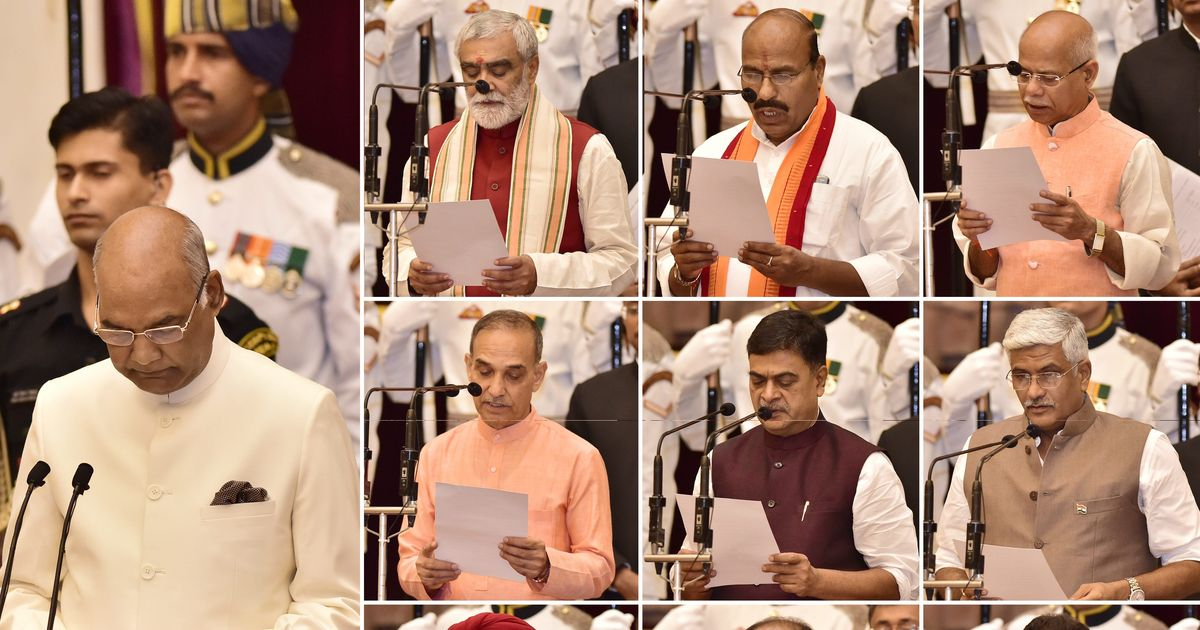 Cabinet reshuffle: A look at the nine new ministers who were sworn in today