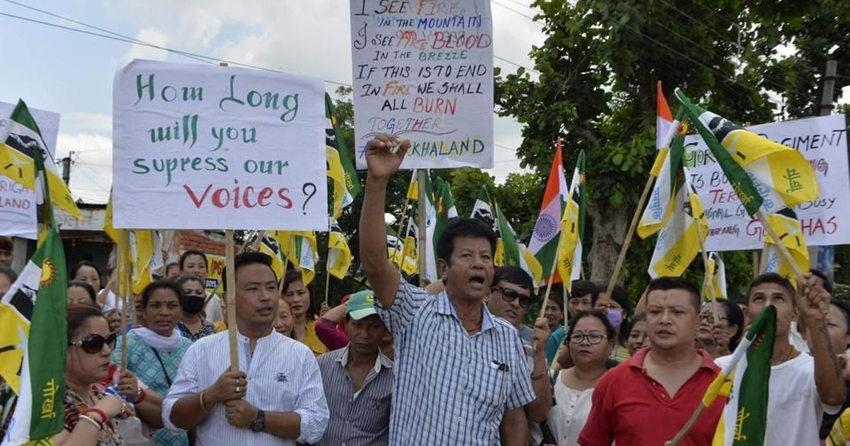 Sikkim police file FIR accusing West Bengal police of murdering GJM supporter: Report