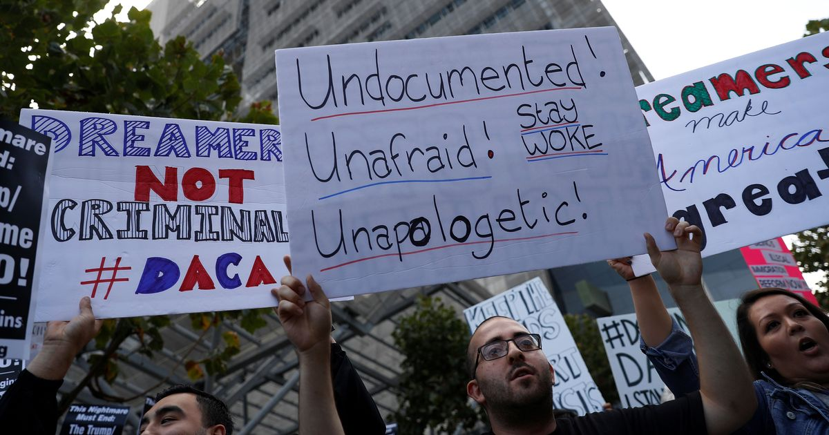 Chicago mayor declares city a 'Trump-free zone' after US president scraps 'dreamers' programme
