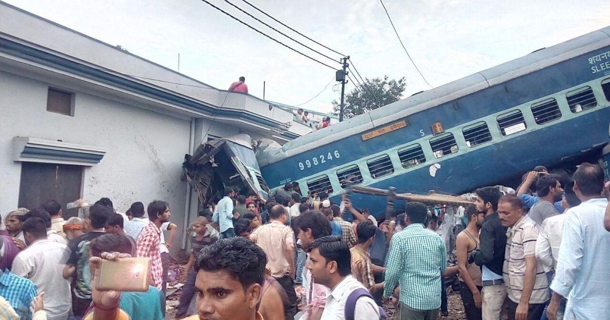 Failure of railway staff led to Utkal Express derailment in Uttar Pradesh, says preliminary report