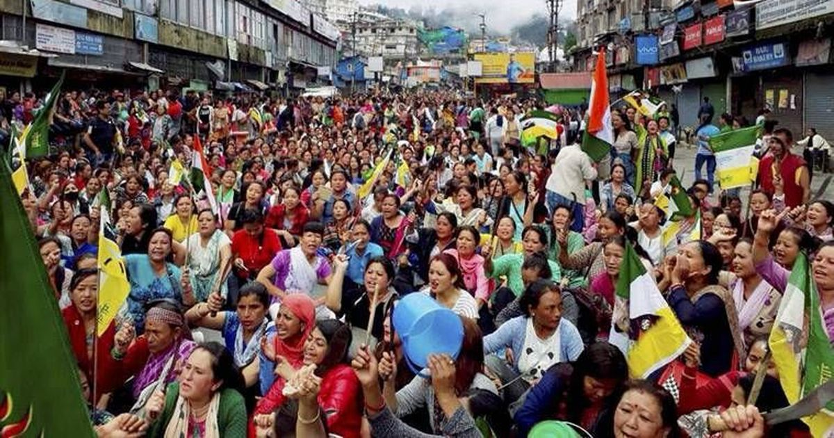 Darjeeling unrest: Clashes erupt on 86th day of shutdown, police seize bomb-making materials