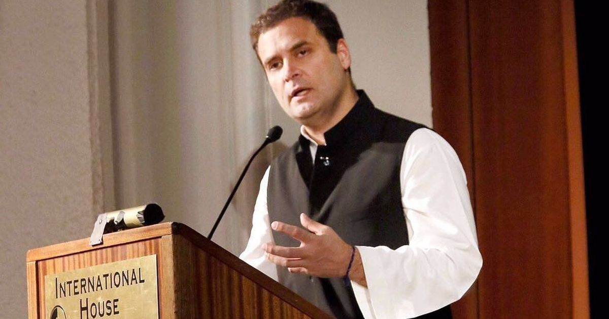 'BJP machine of 1,000 guys' spreads rumours about me, claims Rahul Gandhi