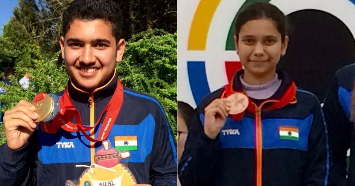 Meet Anish and Muskan Bhanwala, the teenage siblings from Karnal who are shooting up a storm
