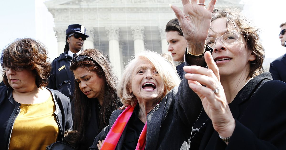 Edith Windsor, who won a Supreme Court fight for same-sex marriage in the US, dies at 88
