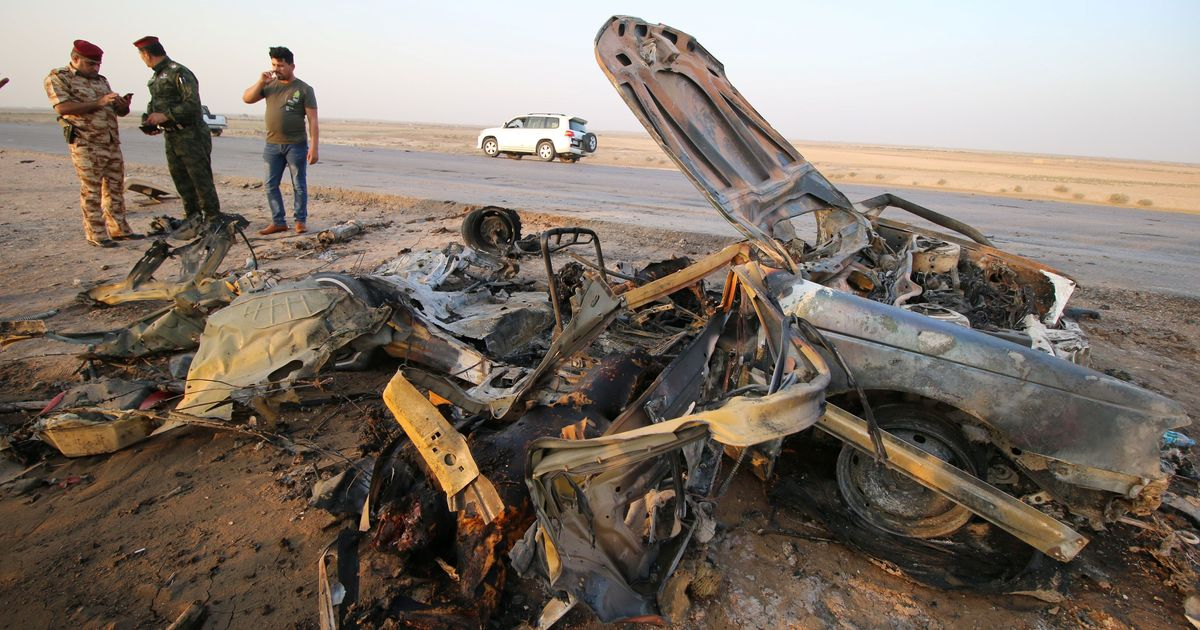 Islamic State claims responsibility for twin attacks that killed at least 50 in Iraq's Nasiriyah