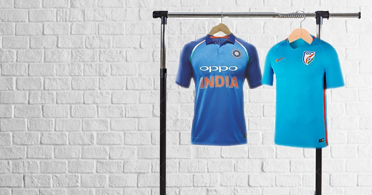 Nike's India football jersey costs more than its cricket one and it makes little sense