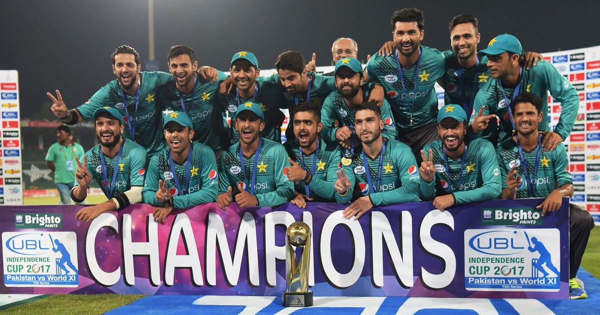 Pakistan beat World XI in third Twenty20 International to clinch series 2-1