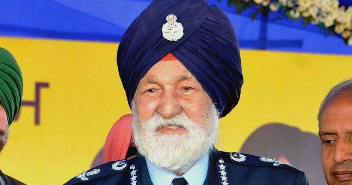 Marshal of the Indian Air Force Arjan Singh dies at 98