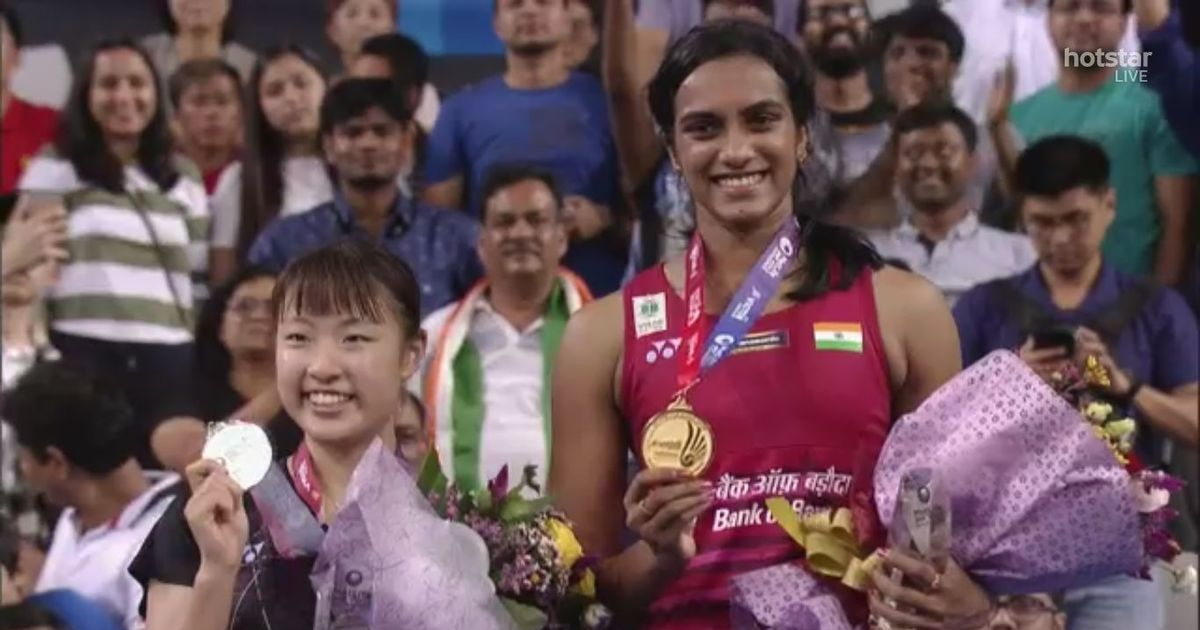 PV Sindhu avenges world championships loss by beating Nozomi Okuhara in final of Korea Open