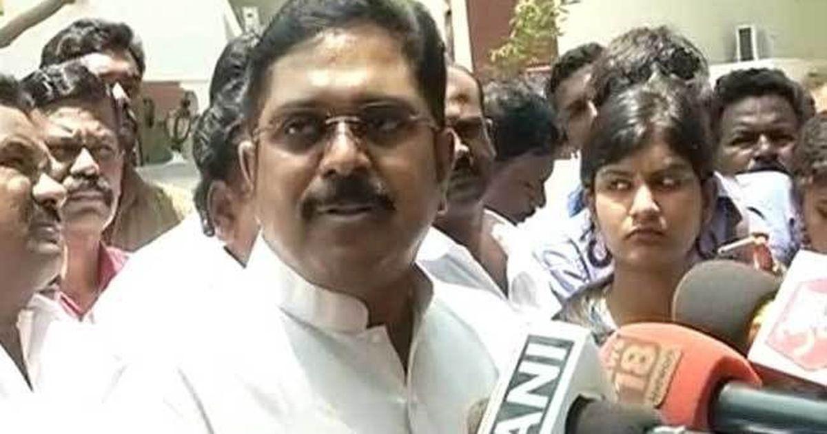 Tamil Nadu Speaker disqualifies 18 AIADMK legislators who backed TTV Dinakaran