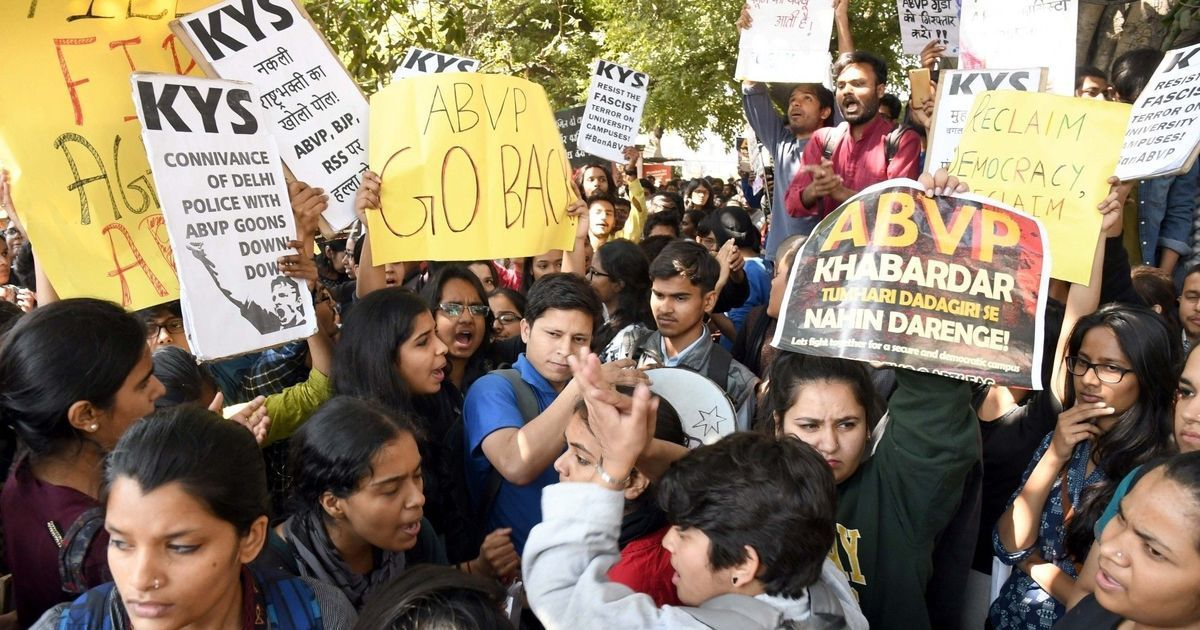 Did Allahabad University cancel an event for fear that it was like 'anti-national' programme in JNU?