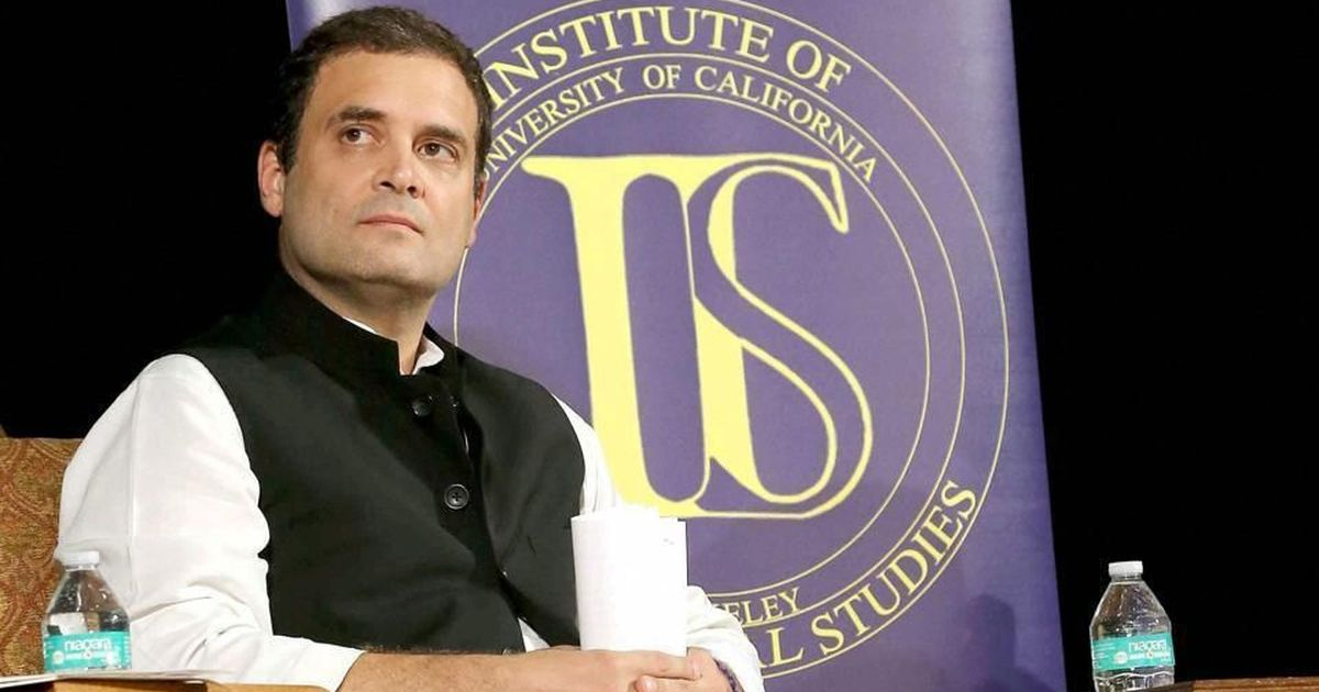 Unemployment, intolerance hindering India's growth, Rahul Gandhi tells political experts in the US
