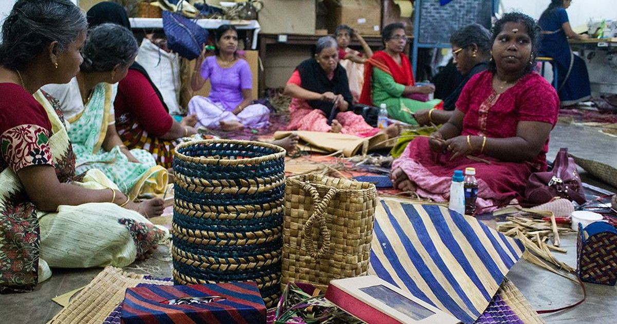 A 'wicked weed' that's spoiling India's rivers is making women independent in a Kerala village