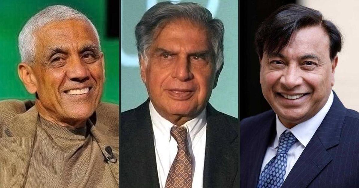 Ratan Tata, Lakshmi Mittal and Vinod Khosla on Forbes' list of '100 Greatest Living Business Minds'