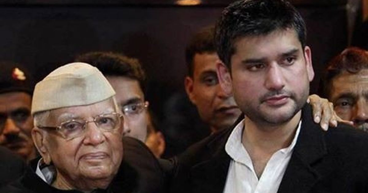 Former Union minister ND Tiwari admitted to Delhi hospital after suffering a stroke