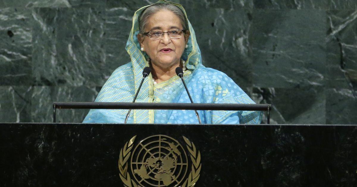 Bangladesh PM Sheikh Hasina proposes creating 'safe zones' in Myanmar for Rohingyas