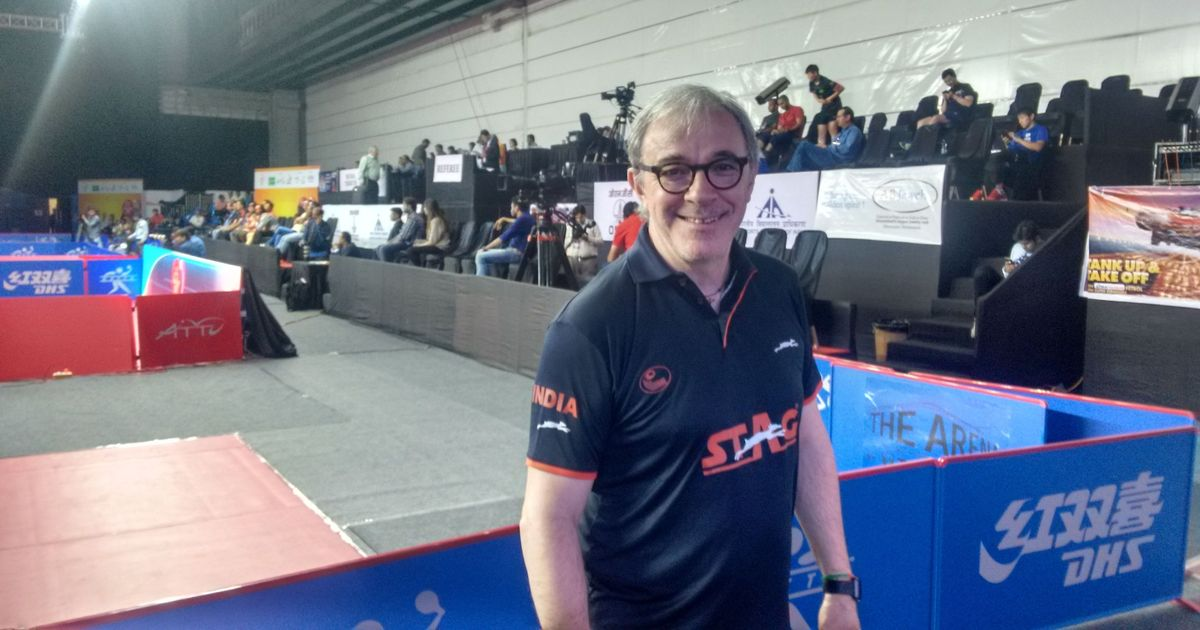 Despite swift Asian Cup exit, India table tennis coach Costantini has high hopes for CWG 2018